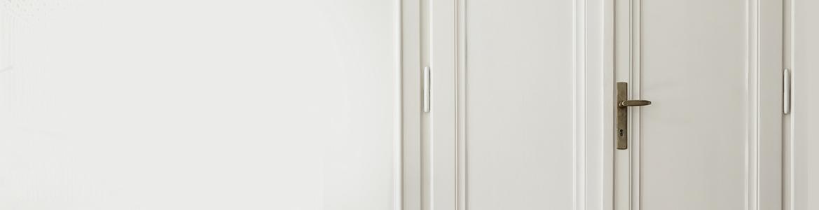 Drzwi z klamką