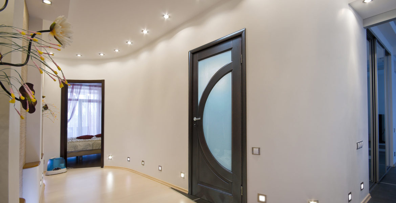 modern apartment hall interior photo